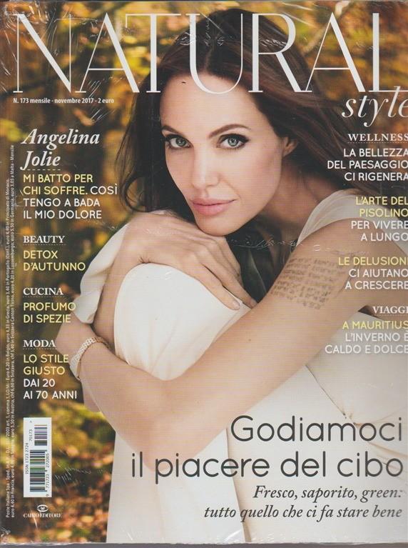 Natural Style - mensile n. 173 - Novembre 2017 - Angelina Jolie