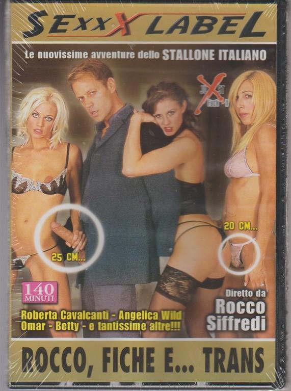 DVD XXX - Rocco, fiche e... Trans . Diretto da Rocco Siffredi