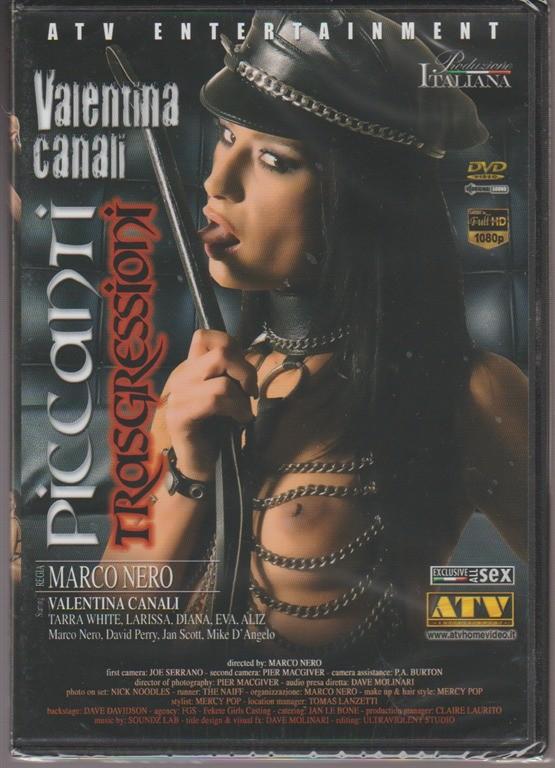 DVD XXX - Piccanti trasgressioni - regia: Marco Nero - Valentina Canali