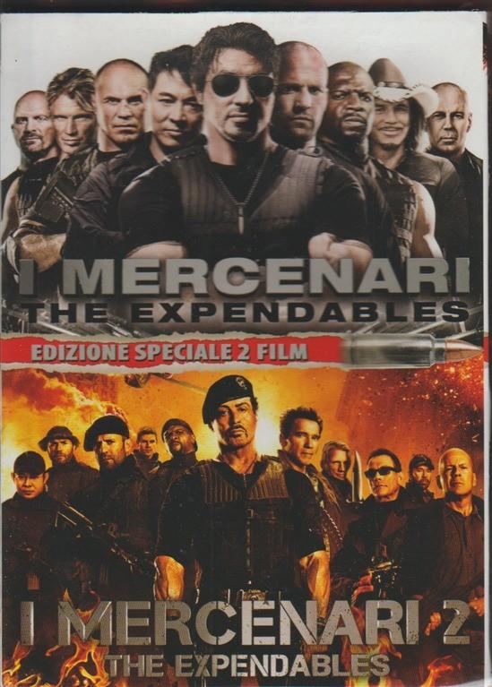 I MERCENARI 1 e 2 con Sylvester Stallone - Panorama (2 DVD)