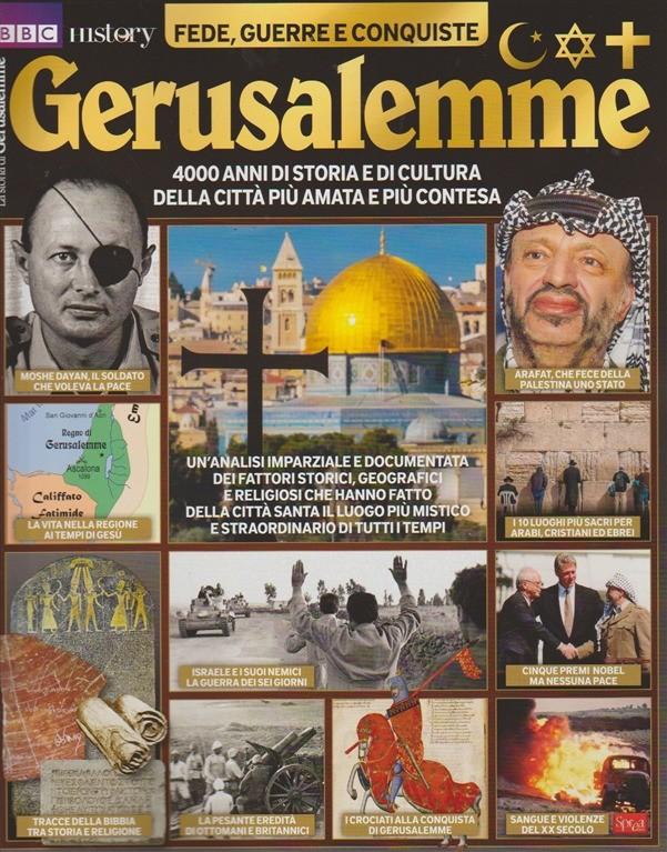BBC History - Gerusalemme - Bimestrale Dicembre 2017 Sprea Editori