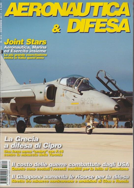 Aeronautica & Difesa - mensile n. 374 Dicembre 2017 Joint Stars