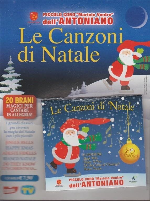 Canzoni Del Natale.Cd Le Canzoni Di Natale Del Piccolo Coro Mariele Ventre