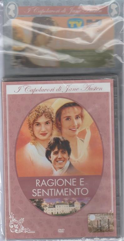 i capolavori di Jane Austen in DVD  - Ragione e Sentimento - Regista: Ang Lee