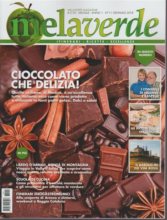 Mela Verde - mensile n. 11 Gennaio 2018 Itinerari, ricette, eccellenze