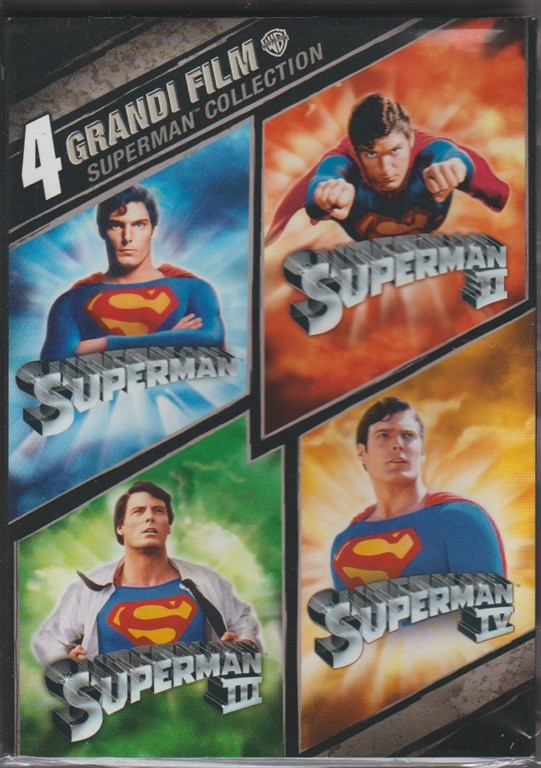 4 Dvd - Cofanetto Superman: 4 film collection