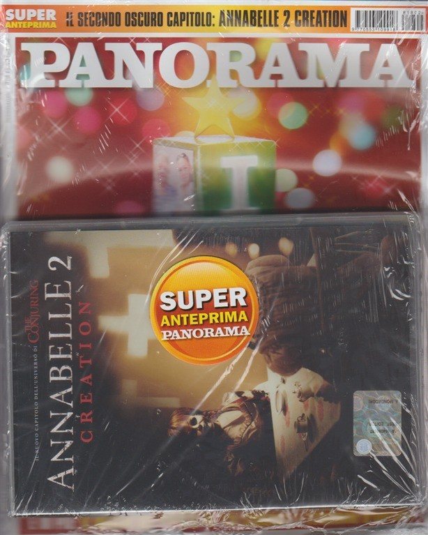Panorama - settimanale n. 2 (2692) - 28 Dicembre 2017 + DVD Annabelle 2 Creation