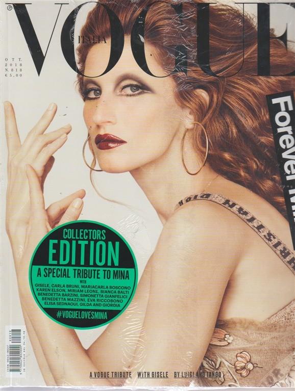 Vogue Italia - n. 818 - ottobre 2018 - mensile