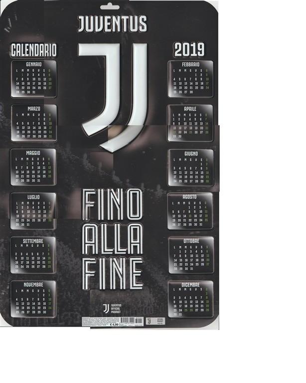 Calendario Internazionale.Calendario 3d 2019 Inter Fc Internazionale Cm 37 X 55
