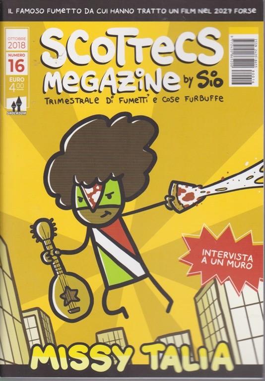 scottecs megazine 16  Scottecs Megazine - n. 16 - ottobre 2018 - trimestrale di fumetti e ...