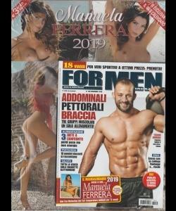For Men Calendario.For Men Magazine N 189 Nov 2019 Maxi Calendario Manuela