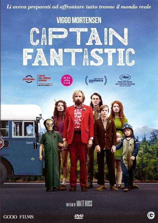 Captain Fantastic - Matt Ross, Viggo Mortensen - DVD Panorama