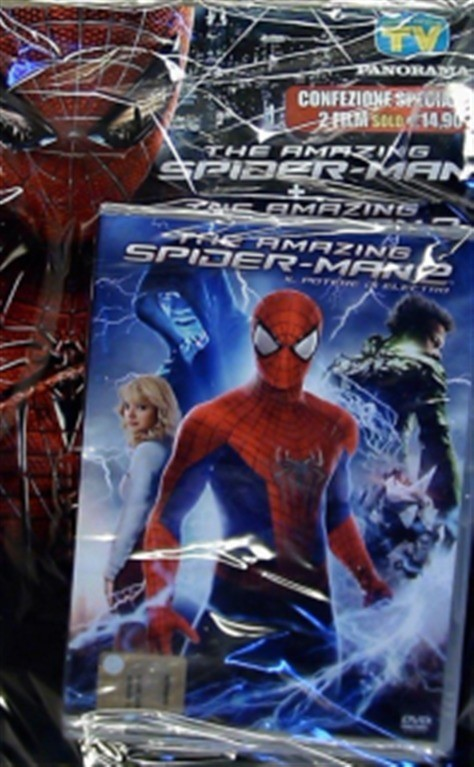 The amazing Spiderman + The amazing Spiderman 2 (DVD di Panorama)