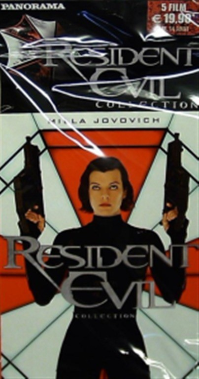Resident evil collection - Contiene 5 film della saga (DVD di Panorama)