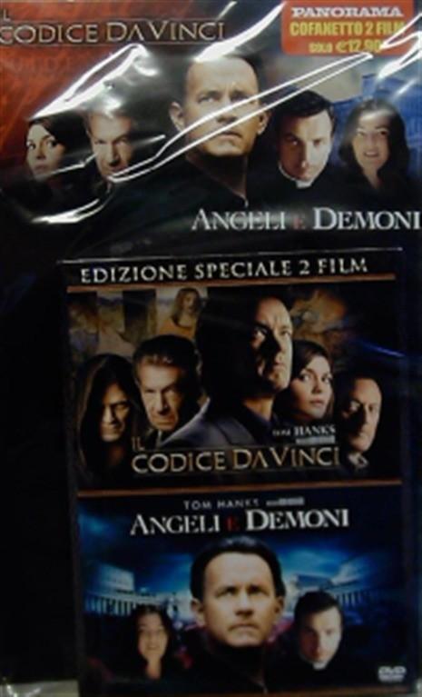 Cofanetto 2 Film Codice da Vinci + Angeli e Demoni (DVD Panorama)