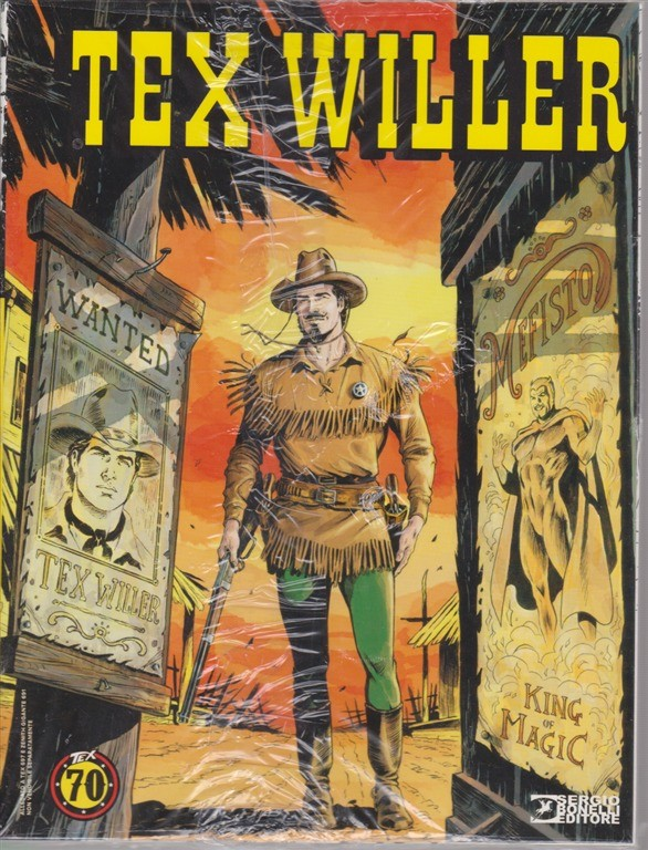 Tex Willer - n. 697 - 7 novembre 2018 - mensile -  Tex - Manhattan!