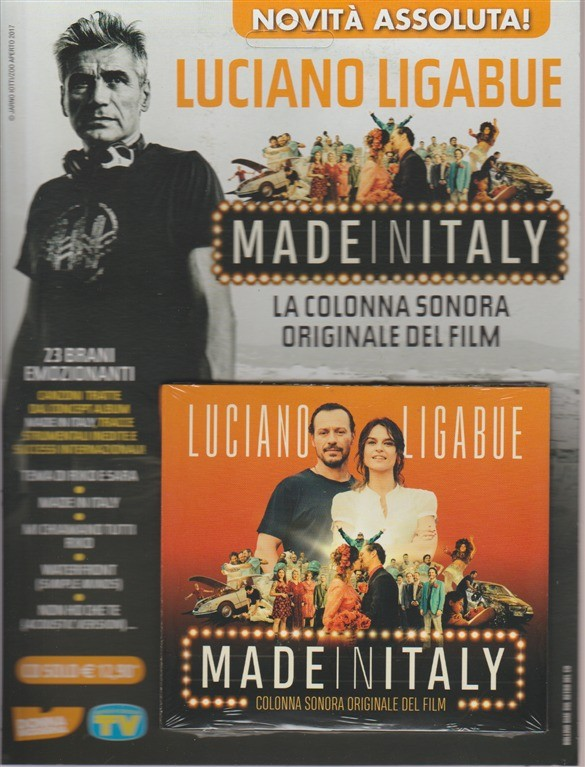 CD - Made in Italy: Luciano Ligabue - la colonna sonora originale del Film