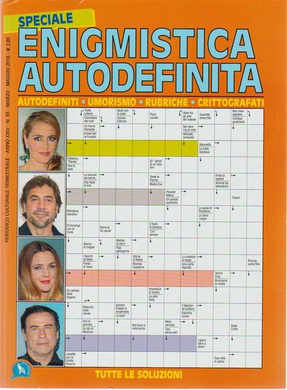 Speciale Enigmistica Autodefinita - Trimestrale n. 93 Marzo 2018