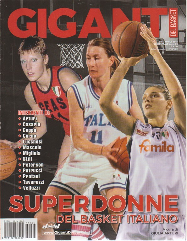 Giganti Del Basket -  n. 5 - aprile 2018 - trimestrale