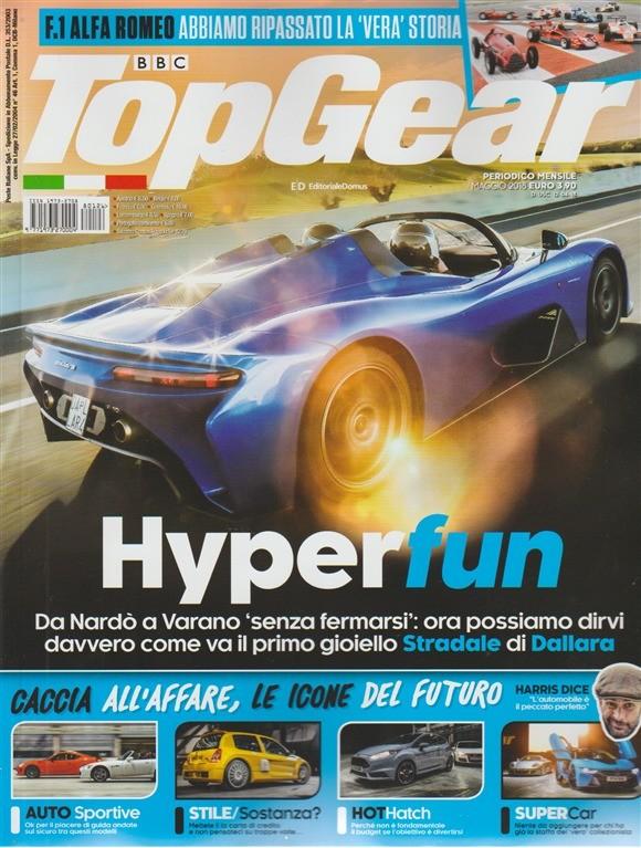 Top Gear. n. 126 - periodico mensile - maggio 2018