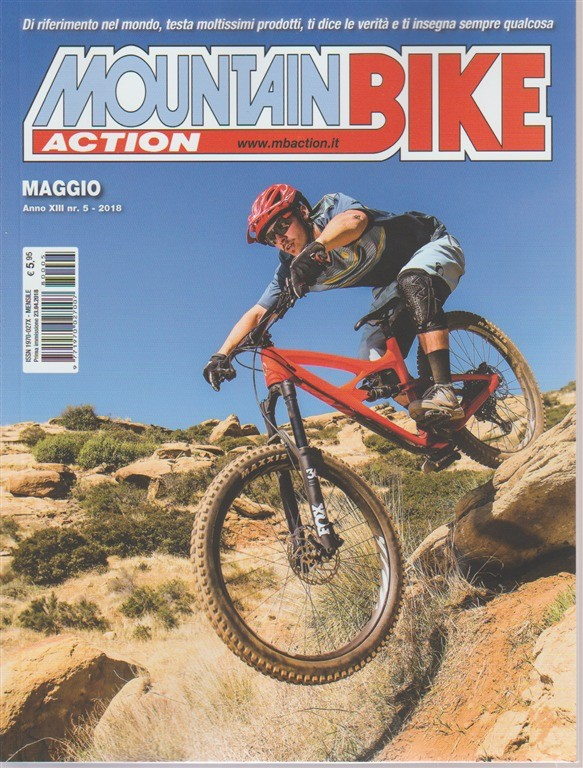 Mountain Bike action n. 5 - mensile - maggio 2018