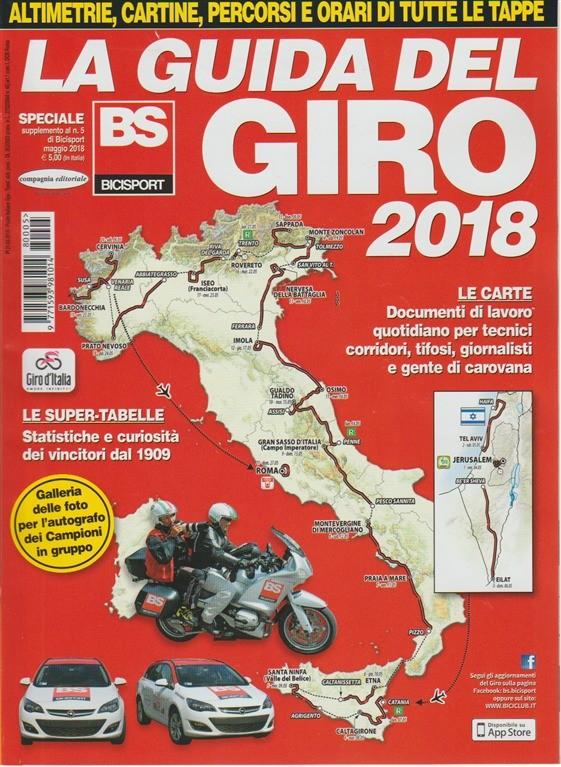 Speciale Bicisport: la Guida del Giro d'Italia 2018 - Maggio 2018
