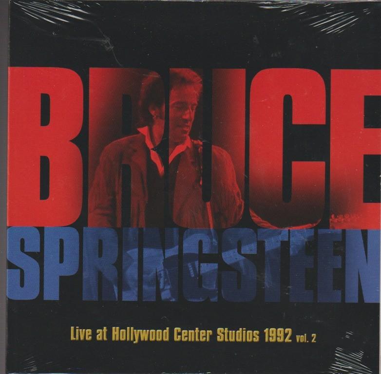 CD - Bruce Springsteen: Live at Hollywood Center Studios 1992 vol.2