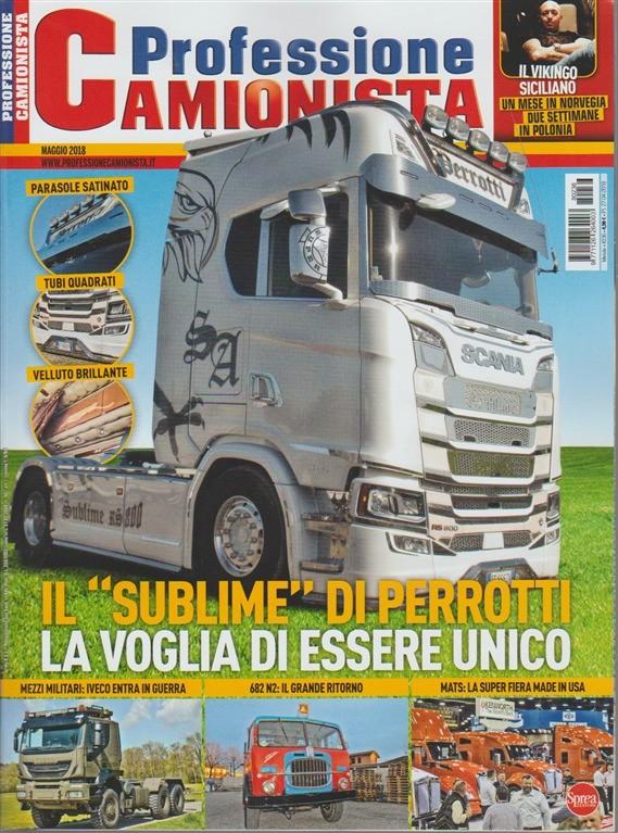 Professione Camionista - mensile n. 236 Maggio 2018