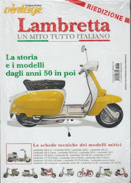 Passione vintage - Lambretta un mito tutto italiano RIEDIZIONE