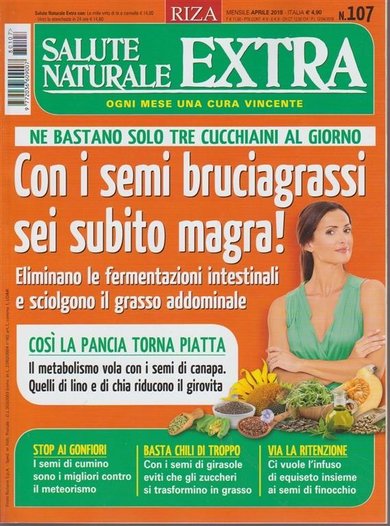 Salute Naturale Exta n. 107 - mensile - aprile 2018