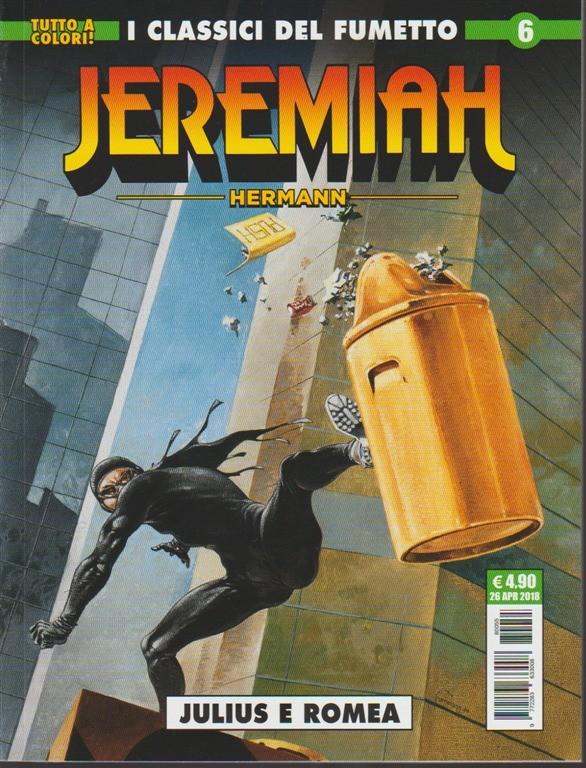 Jeremiah n. 6  - mensile - aprile 2018 - cosmo serie verde
