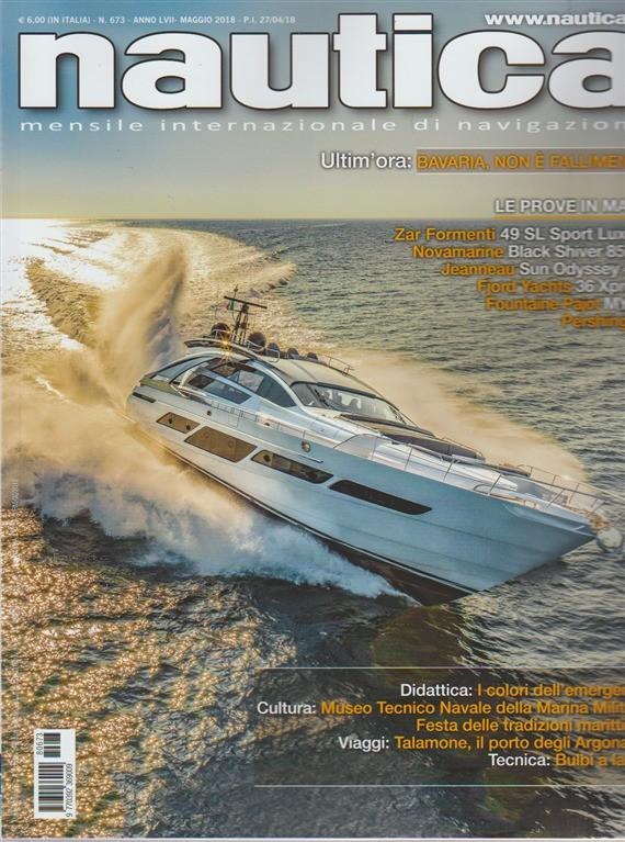 Nautica - n. 673 - mensile - maggio 2018