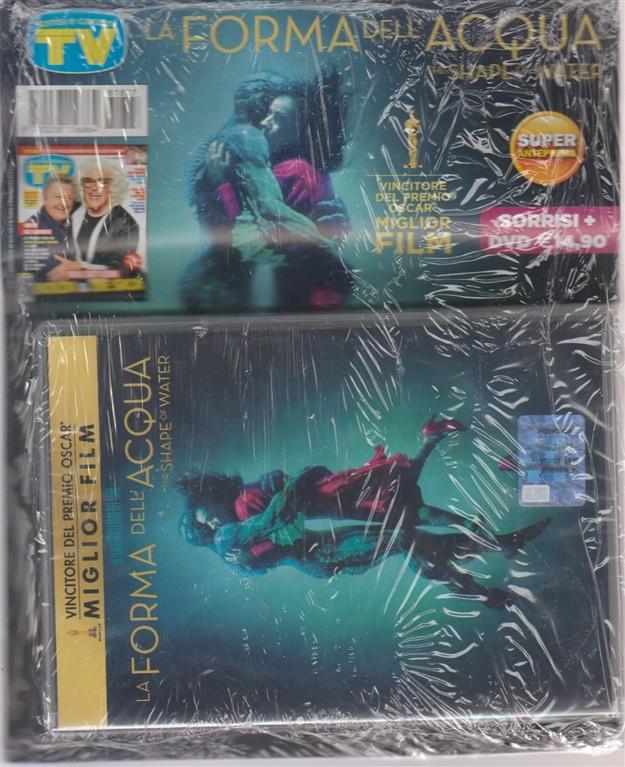 Sorrisi speciale dvd cinema - La forma dell'acqua - Sorrisi + dvd