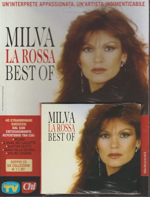 Doppio CD - Milva la Rossa best of by Sorrisi e Canzoni TV