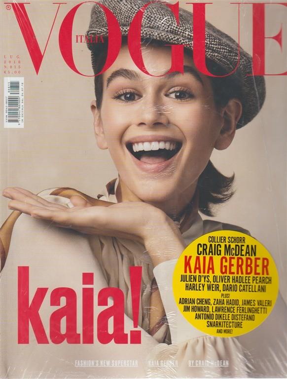 Vogue Italia - n. 815 - luglio 2018 - mensile