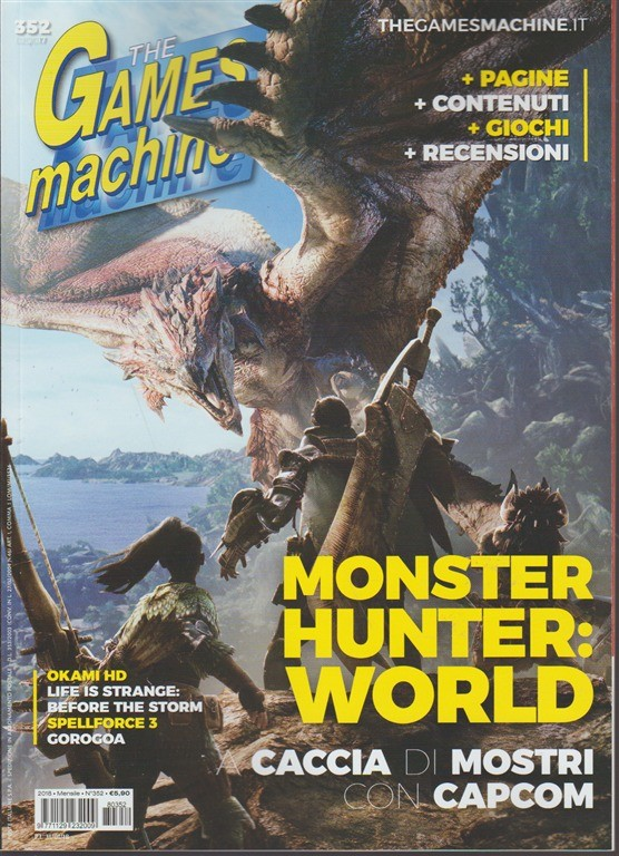 The Games Machine - mensile n. 352 febbraio 2018 - Okami HD