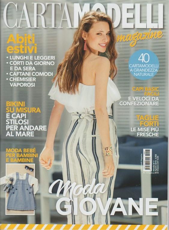 74bc27ab88b3 Cartamodelli Magazine - mensile n. 7 Agosto 2018 Abiti estivi ...