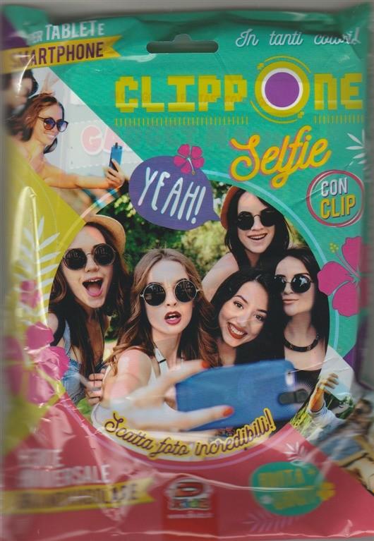 Clippone Selfie con clip: per tablet e smartphone