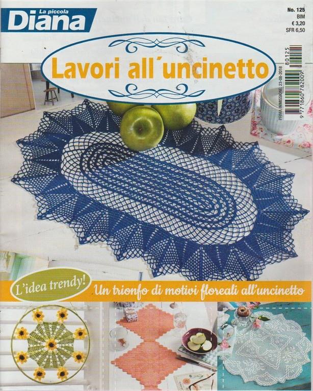 La Piccola Diana Lavori Alluncinetto N 125 Bimestrale 238