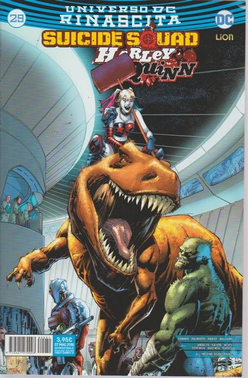 Suicide Squad - Harley Quinn - n. 51 - quindicinale - 7 maggio 2018 -