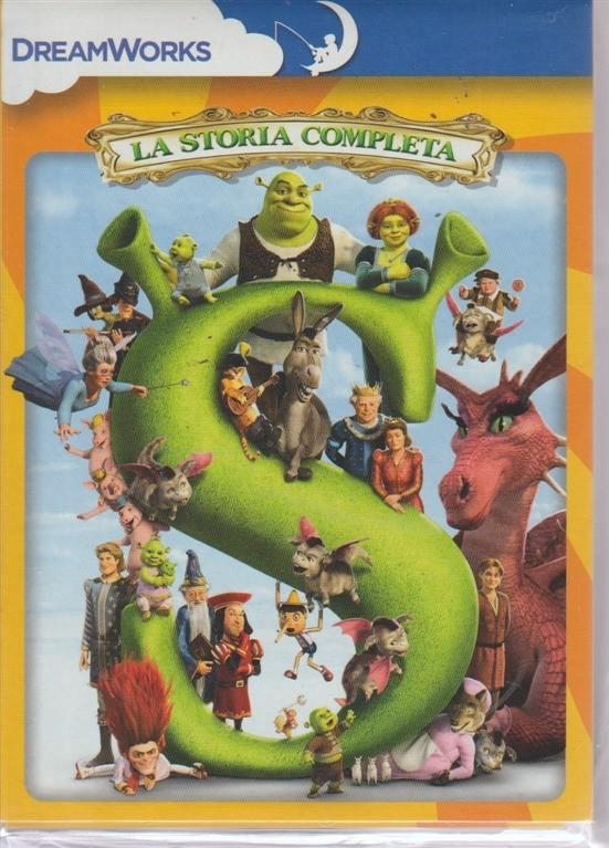 I Dvd Di Sorrisi  collection - n. 21 - settimanale - ottobre 2018 - Shrek - La storia completa