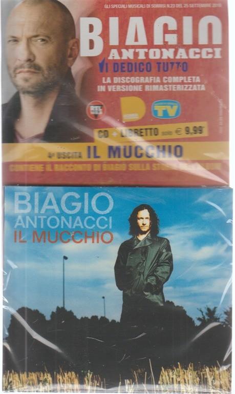 Cd Sorrisi Collezioni n. 56 - settimanale - ottobre 2018 - Biagio Antonacci - cd + libretto  - 4 uscita -  Il mucchio