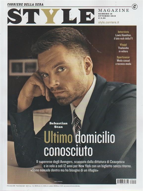 Style Corriere Della Sera Calendario Uscite.Style Magazine N 10 Ottobre 2018 Corriere Della Sera