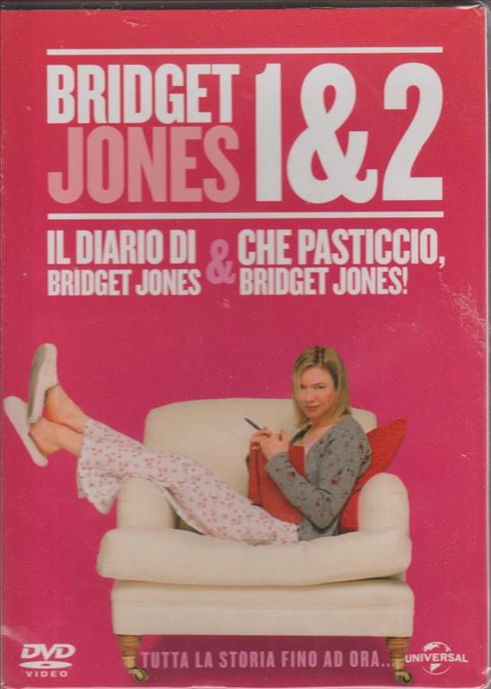 BRIDGET JONES 1 & 2 IL DIARIO DI BRIDGET JONES & CHE PASTICCIO, BRIDGET JONES!. 2 FILM.