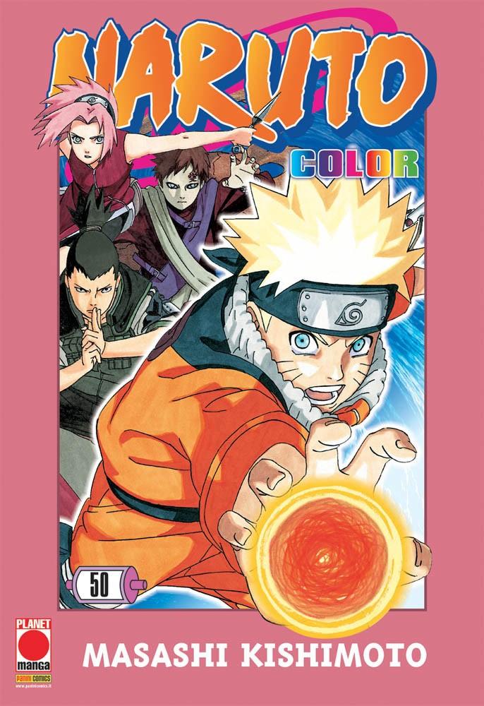 Naruto Color - N° 50 - Naruto Color - Planet Manga