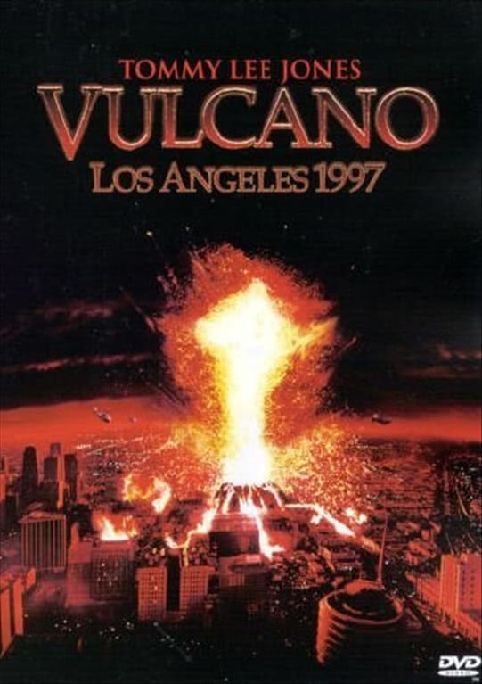 Vulcano - Los Angeles 1997 -  Tommy Lee Jones, Anne Heche, Don Cheadle (DVD)