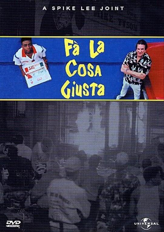 Fa' La Cosa Giusta - Ruby Dee, Ossie Davis, Giancarlo Esposito, Richard Edson (DVD)
