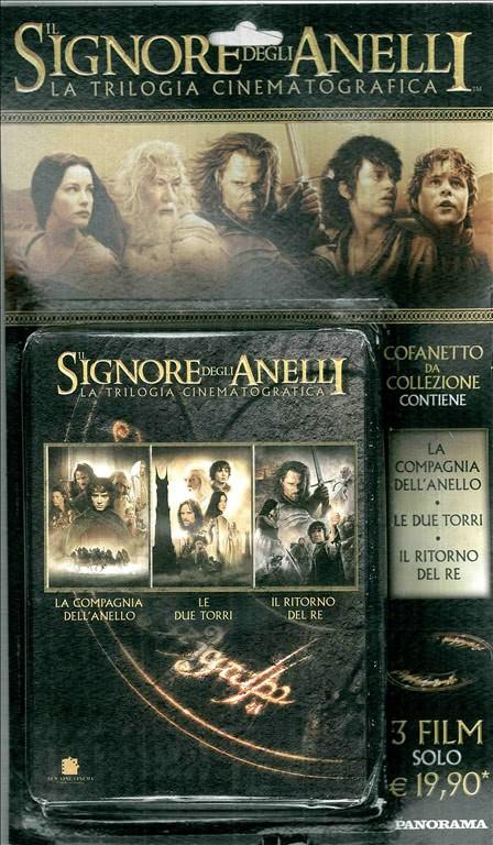 """Trilogia cinematografica de """"Il Signore degli Anelli"""" in DVD"""
