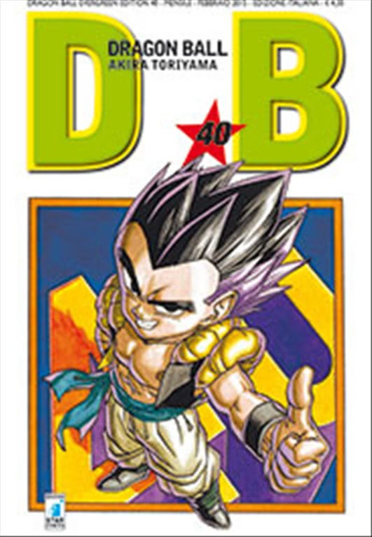 Manga DRAGON BALL EVERGREEN n.40-ed.STAR COMICS