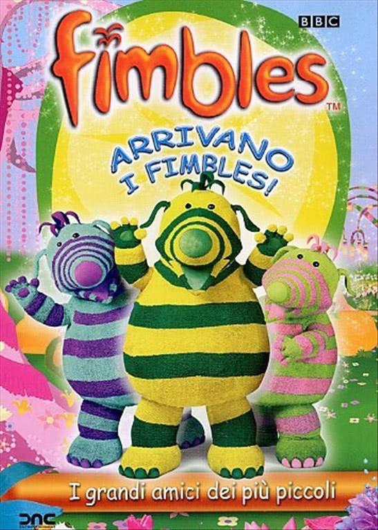 Fimbles - Arrivano i Fimbles (DVD BBC)